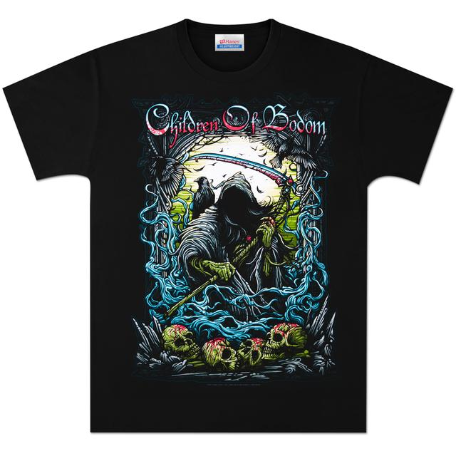 Children Of Bodom Skulls Reaper T-Shirt