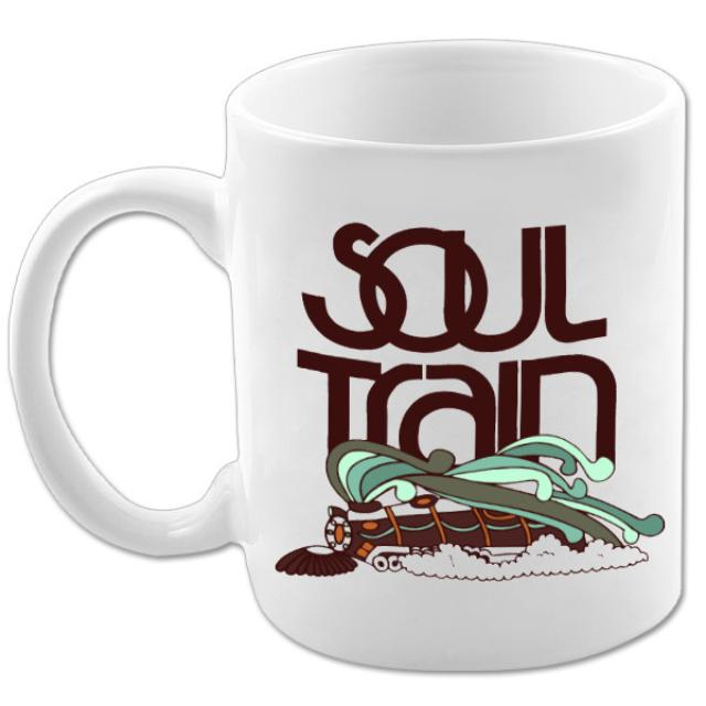 Soul Train Color Logo Train White Mug