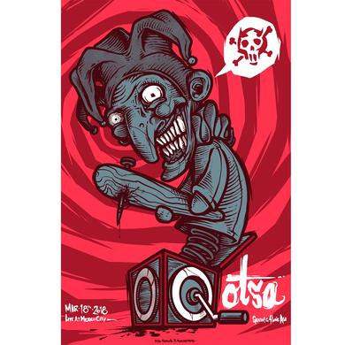 Queens Of The Stone Age Mexico City Show Poster