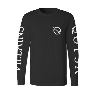 Queens Of The Stone Age Black Snake Long Sleeve Tee