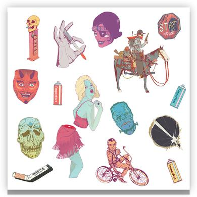 Queens Of The Stone Age Sticker Sheet