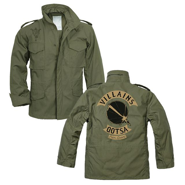Queens Of The Stone Age Villains Military Jacket