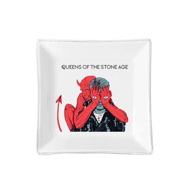 Queens Of The Stone Age White Key Tray