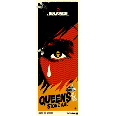 Queens Of The Stone Age Victoria, BC Event Poster