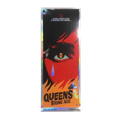 Queens Of The Stone Age Victoria, BC Foil Event Poster