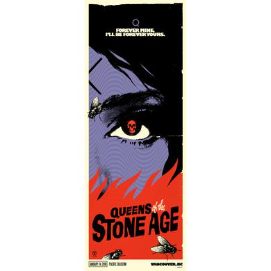 Queens Of The Stone Age Vancouver, BC Event Poster