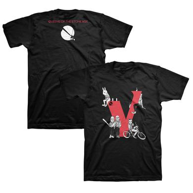 Queens Of The Stone Age Villains Tee