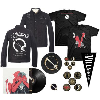 Queens Of The Stone Age Deluxe Villains Bundle (Deluxe Vinyl)