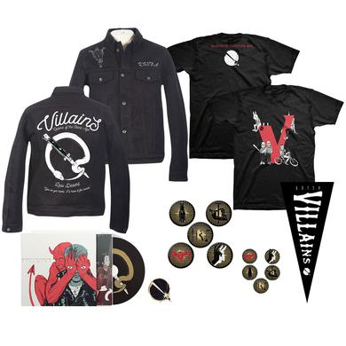 Queens Of The Stone Age Deluxe Villains Bundle (CD)