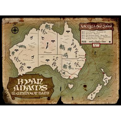 Ryan Adams Australia + New Zealand 2017 Tour Poster