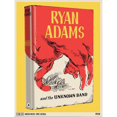 Ryan Adams Sydney Event Poster (5/27/17)