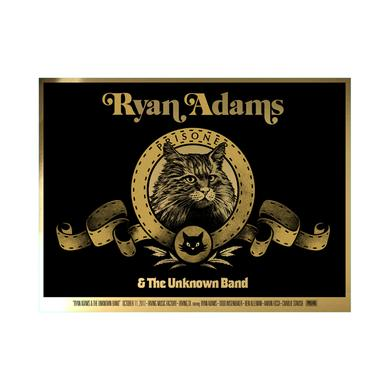 Ryan Adams Irving, Texas Event Poster 10/11/17 Foil Variant