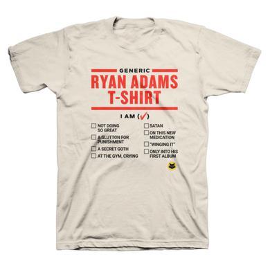 Ryan Adams Generic Tee