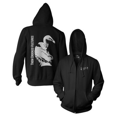 Them Crooked Vultures Turn Your Back Zip Hoodie