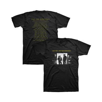 Iggy Pop Album Cover Unisex Tour Tee