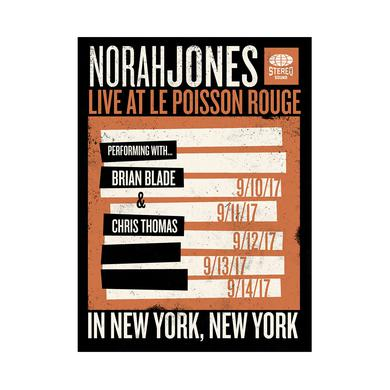 Norah Jones Live At Le Poisson Rouge Poster