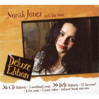 Norah Jones Feels Like Home Deluxe CD/DVD