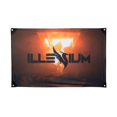 ILLENIUM Firebird Flag