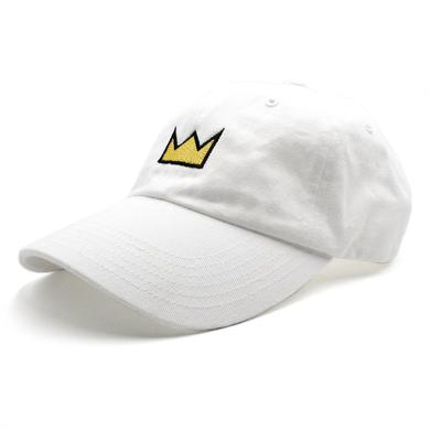 Louis the Child Gold Crown Dad Hat - White