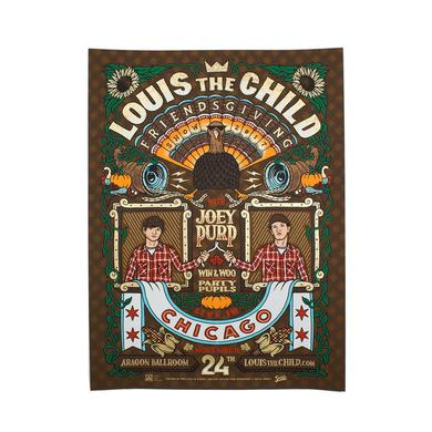 Louis the Child Friendsgiving Limited Edition Poster