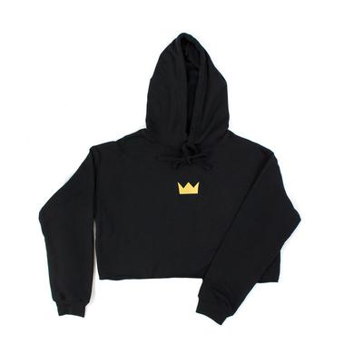 Louis the Child LTC Crown Embroidered Crop Hoodie