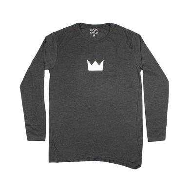 Louis the Child Crown Diagonal Cut Long Sleeve