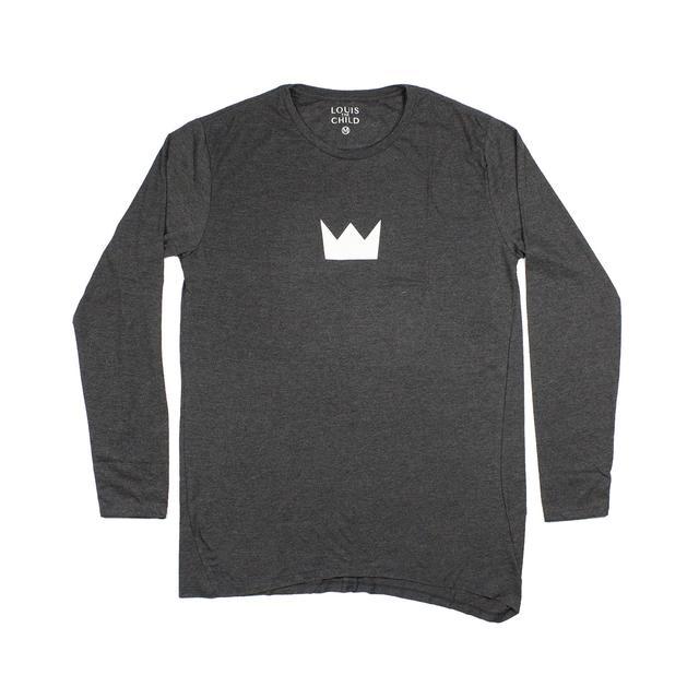 Louis the Child Crown Diagonal Cut Long Sleeve