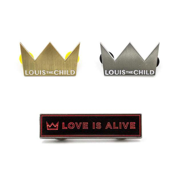 Louis the Child Enamel Pin Bundle Pack
