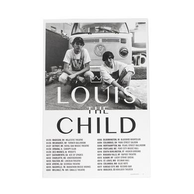 Louis the Child LTC Spring 17 Tour Poster