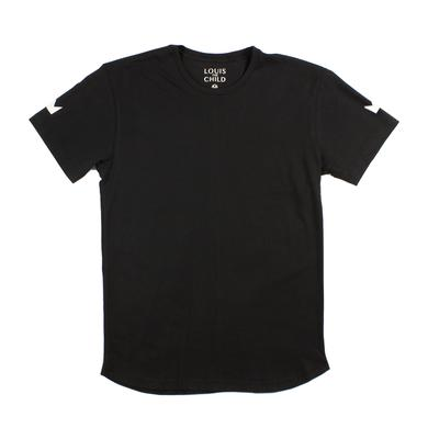 Louis the Child Double Crown Tee / Black