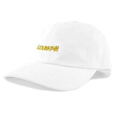 Louis the Child Louis Kodomo Dad Hat / White