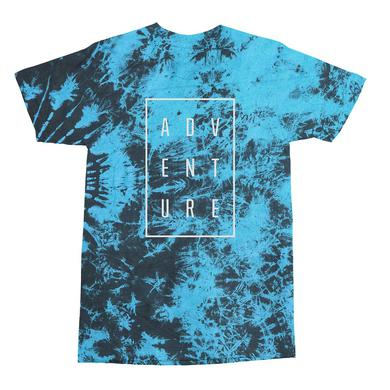 Adventure Club Blue Tie Dye Tee
