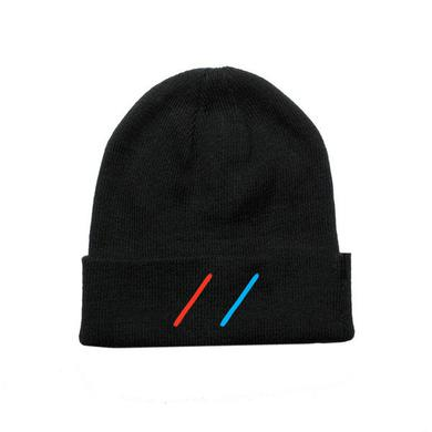 Adventure Club Red // Blue Beanie