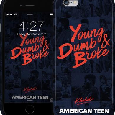 Khalid 'Young, Dumb & Broke' iPhone Case