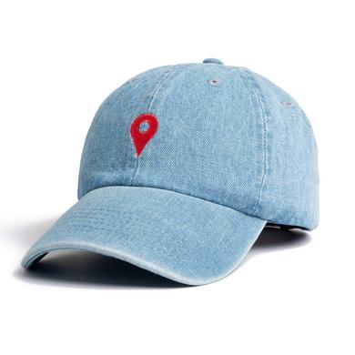 Khalid Denim Location Dad Hat