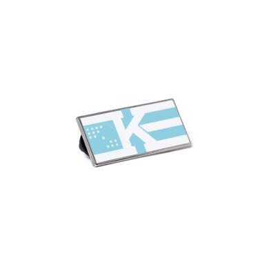 Khalid 'Flag' Logo  Enamel Pin