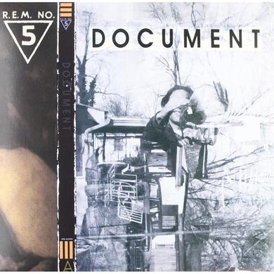 R.E.M. Document 2018 Repress Gold Vinyl