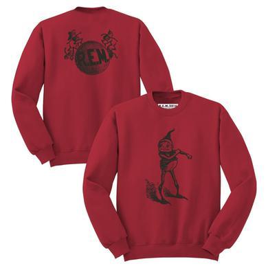 R.E.M. 'Elf' Sweatshirt (Antique Cherry Red)