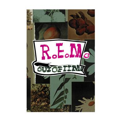 R.E.M. Flower Sticker