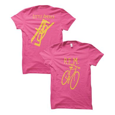 R.E.M. Little America Bicycle Women's Throwback Tee