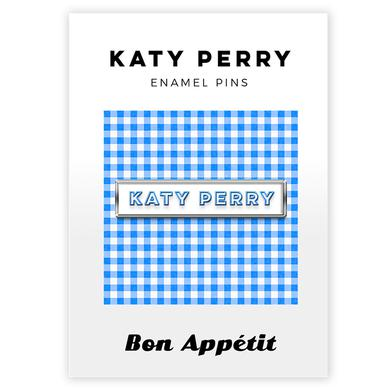 Gingham Katy Perry Enamel Pin