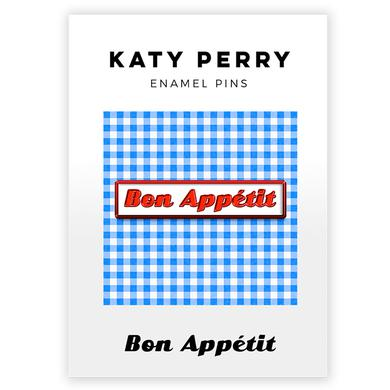 Katy Perry Bon Appetit Enamel Pin