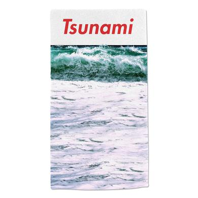 Katy Perry Tsunami Ocean Towel Red