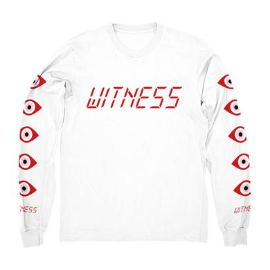 Katy Perry Red Witness Logo Longsleeve Tee