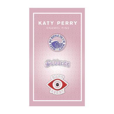 Katy Perry Tour Enamel Pin Set
