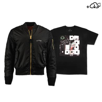 A Tribe Called Quest Album Art Tee, Flight Jacket & Download