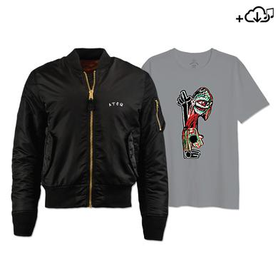 A Tribe Called Quest Tribe Character Tee, Flight Jacket & Download