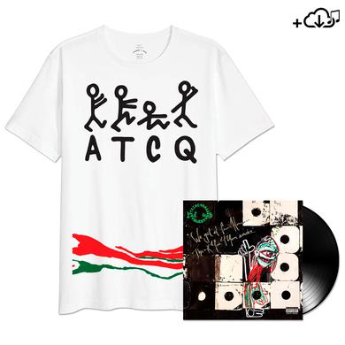 A Tribe Called Quest Limited Edition Stripe Tee + Vinyl + Download