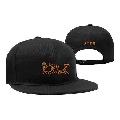 A Tribe Called Quest Orange Figures Snapback Hat