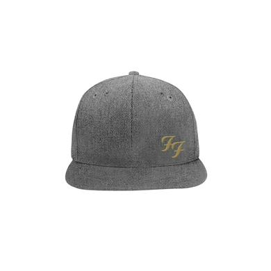 Foo Fighters FF Limited Edition Snapback Hat (Heather Grey)